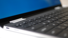 A look at the laptop configuration and the short travel 'MagLev' keyboard.