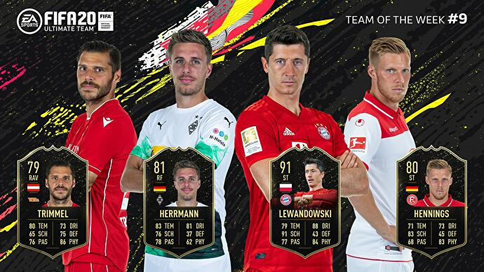 FIFA_20_Team_of_the_Week_9_Trimmel_Herrmann_Lewandowski_Hennings