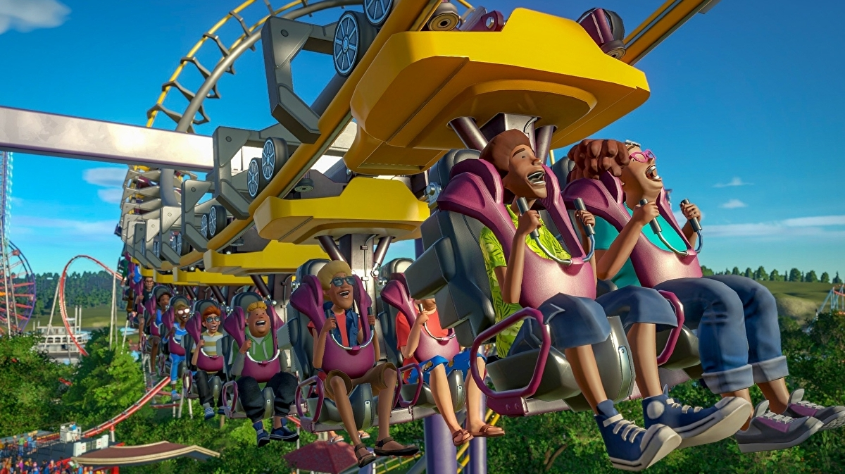 Acclaimed theme park sim Planet Coaster coming to Xbox One and PS4 next year - Eurogamer.net
