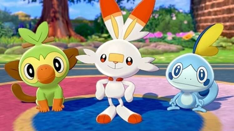 Pokemon Sword And Shield Starters Sobble Scorbunny And Grookey Evolutions Base Stats And Which Starter Is Best Eurogamer Net You can find grookey in the following locations: pokemon sword and shield starters