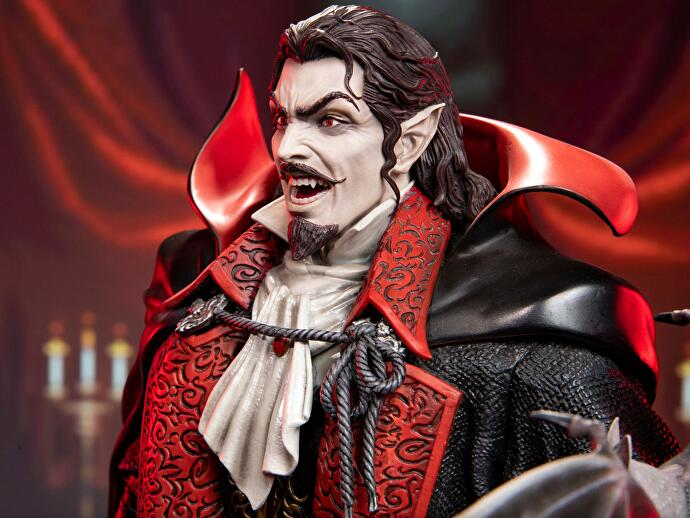 First_4_Figures_Dracula_Statue_Castlevania