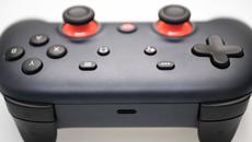 A look around the core components of Stadia - the controller and Chromecast Ultra.