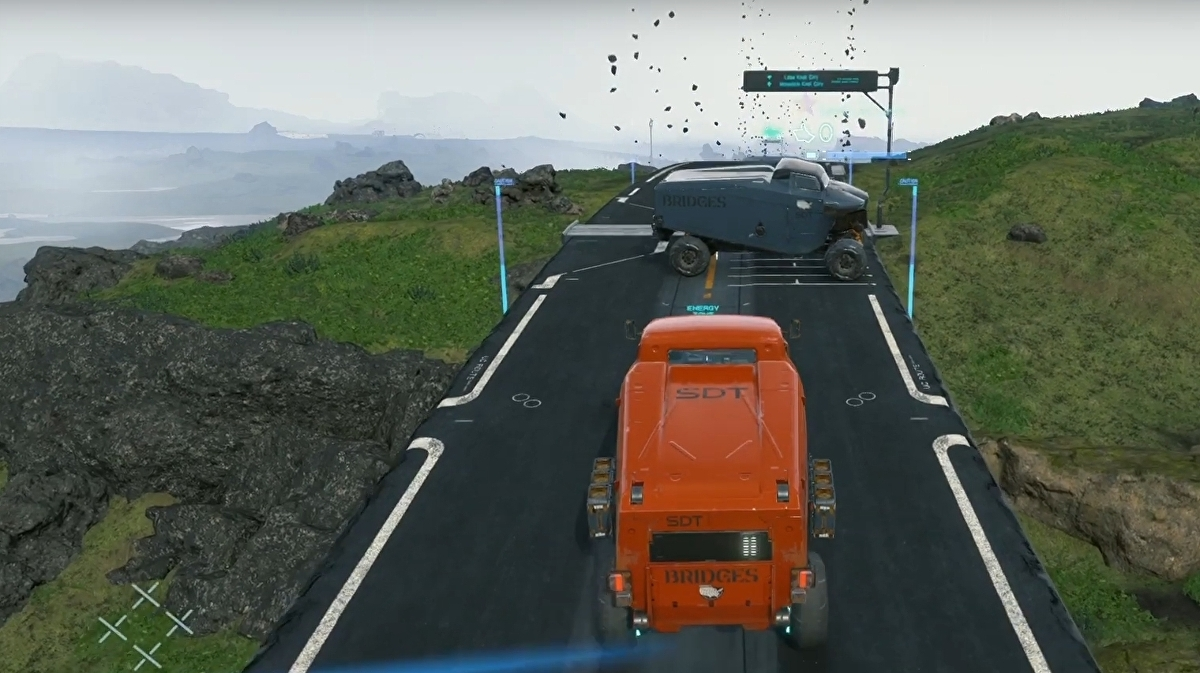 Death Stranding players are using vehicles for griefing, and Kojima Productions is stepping in