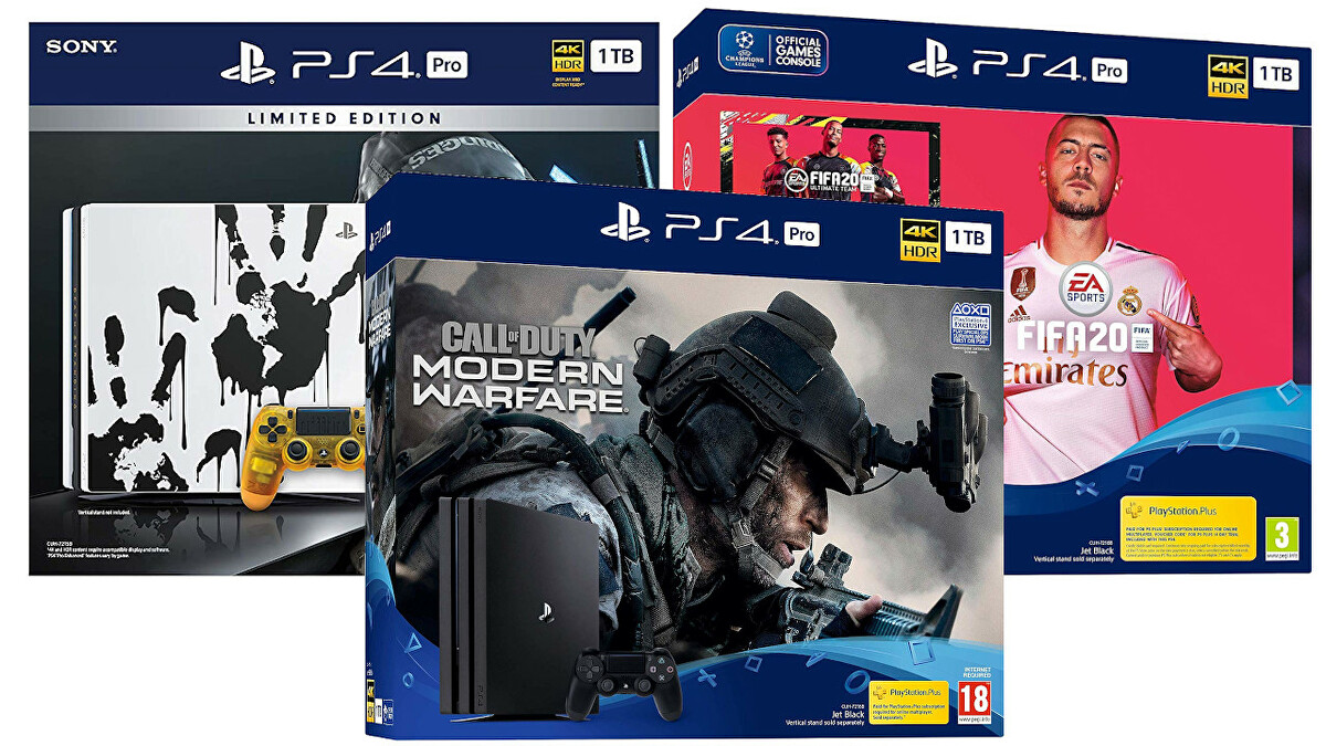 These PS4 Pro bundles with Call of Duty, Fifa 20 or Death Stranding start at £250