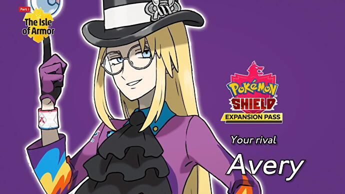 Pokémon Sword & Shield Expansão/DLC rival Avery