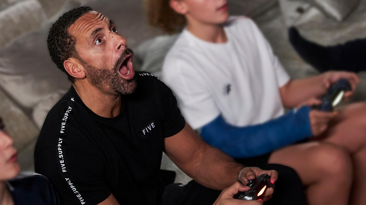 Rio Ferdinand wants parents to turn on console family controls
