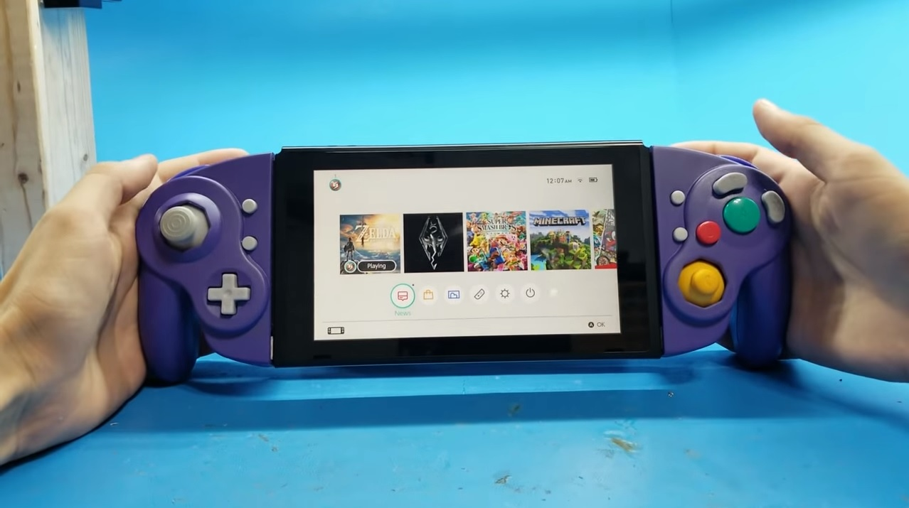 Modder φτιάχνει ... GameCube Joy-Cons !