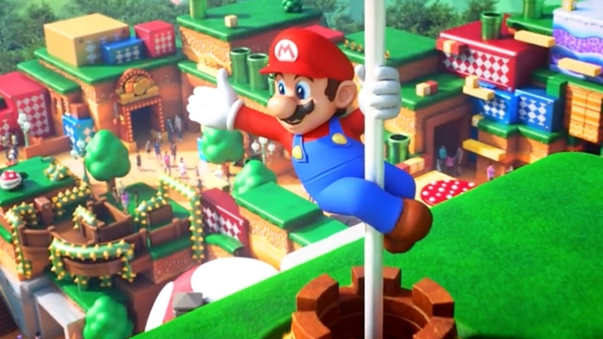 Super Nintendo World will officially be part of Universal Studios' new Florida theme park