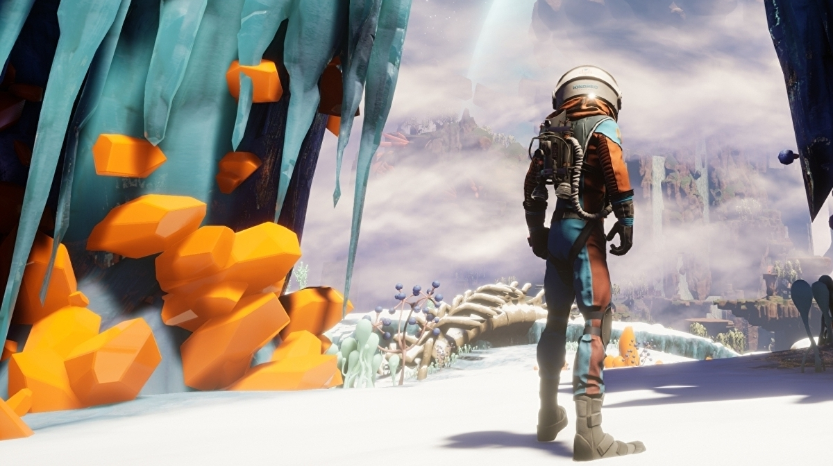 Journey to the Savage Planet review - a genuinely funny toybox to explore