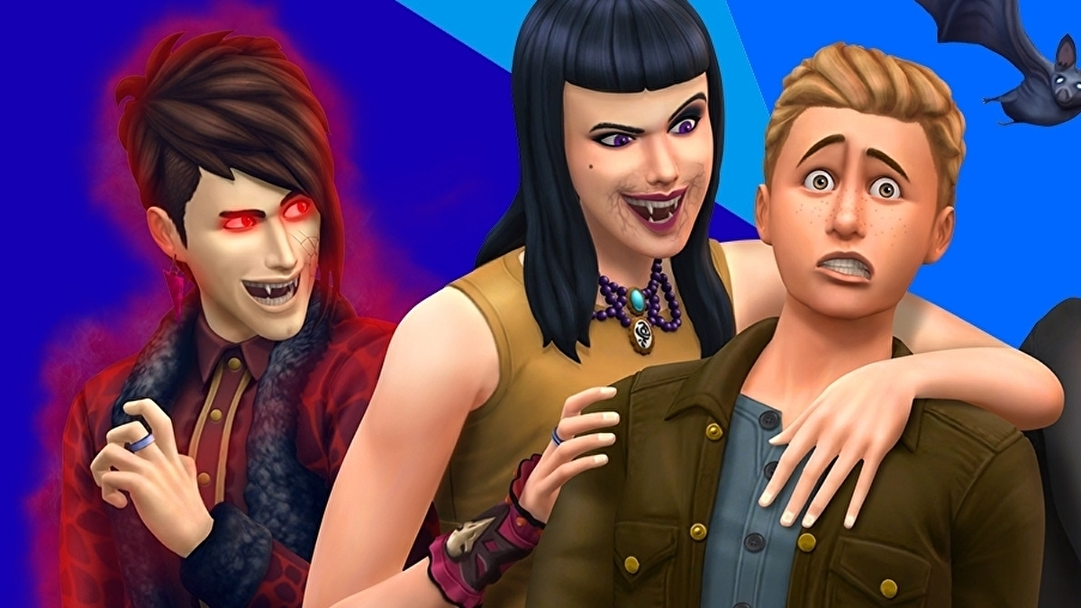 The Sims 4 Vampires Explained How To Become A Vampire And Back Again With A Vampire Cure Eurogamer Net