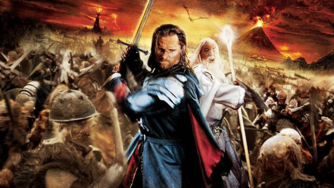 Image result for lord of the rings the return of the king game