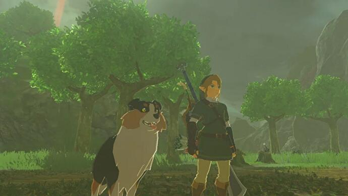 Zelda_Breath_of_the_Wild_Speedrun_Hunde_fuettern