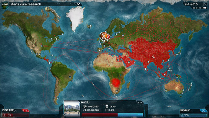 Plague Inc. has been removed from the China App Store