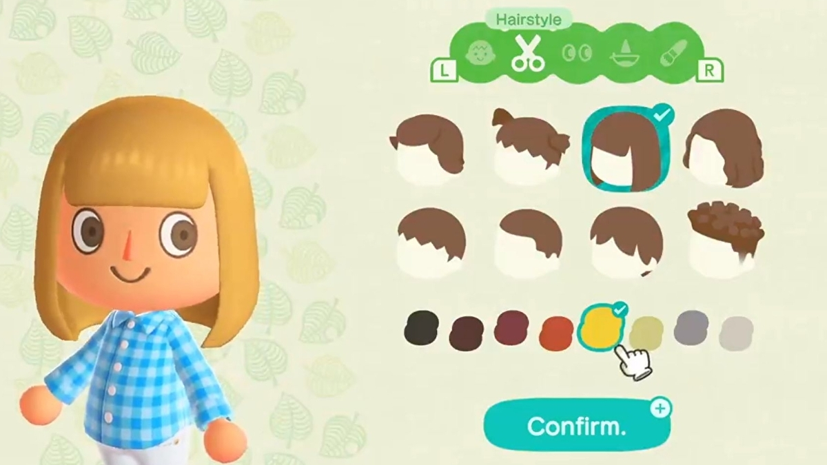 Animal Crossing Character Customisation How To Change Your Face