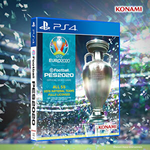 Konami announces April release for PES's Euro 2020 DLC as the real-life event hangs in the balance