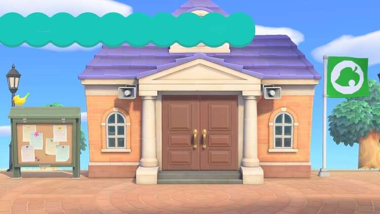 Animal Crossing S Town Hall Getting Isabelle Change The Island Flag In New Horizons Explained Eurogamer Net