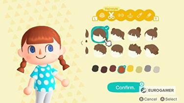 Animal Crossing Hairstyles List Top 8 Pop Cool And Stylish Hair Colors In New Horizons Revealed Eurogamer Net