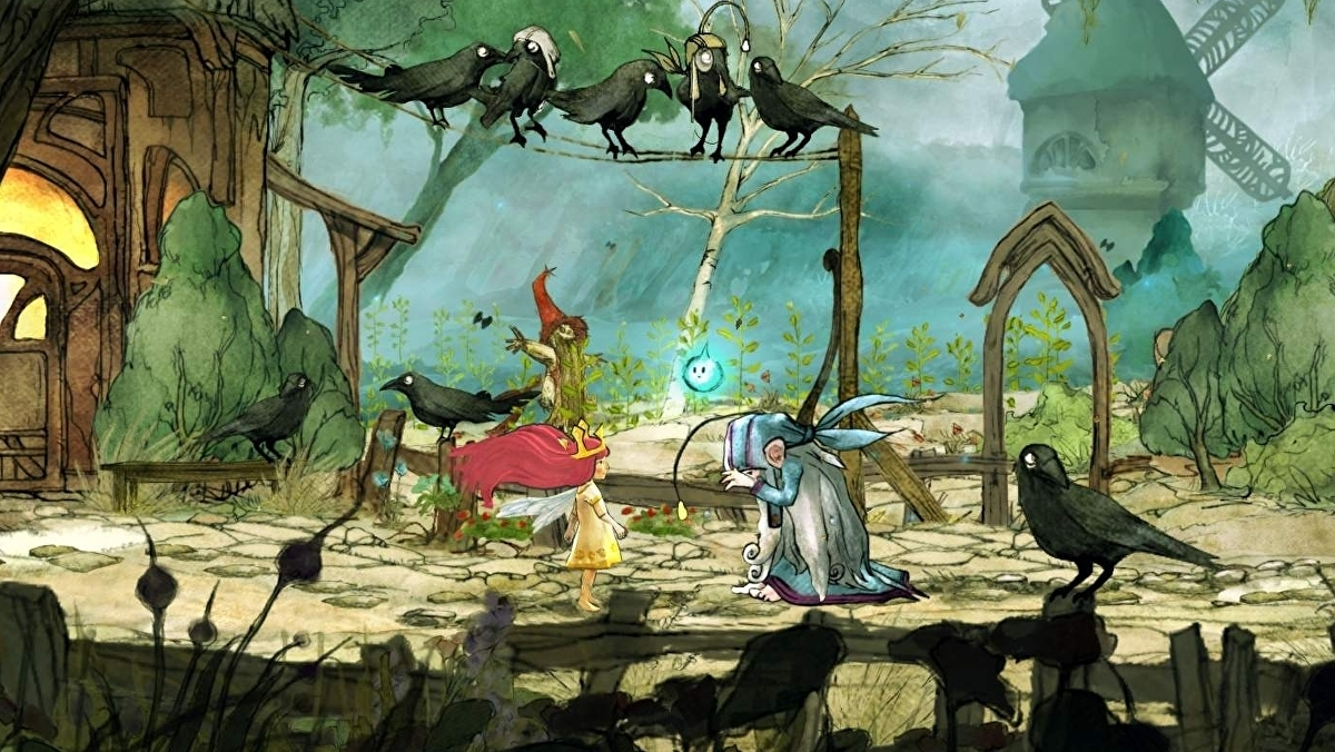 Ubisoft's beautiful fairy tale adventure Child of Light currently free on PC