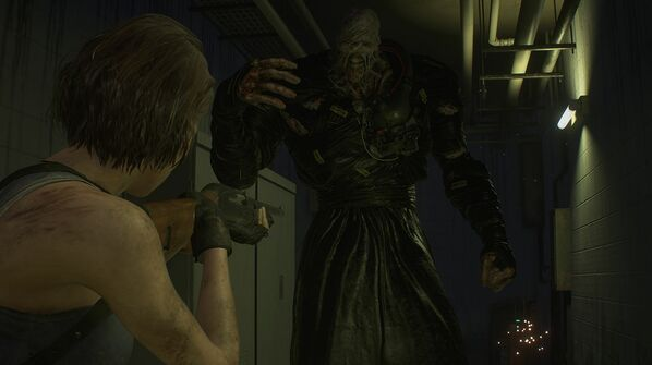 resident evil 3 remake nemesis second form