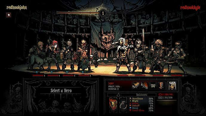 Darkest Dungeon is getting an arena-based PvP mode in its new Butcher's Circus paid DLC
