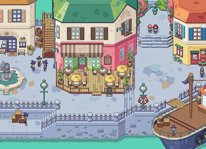 Stardew-Valley-inspired magic school sim Witchbrook gets a gorgeous new look