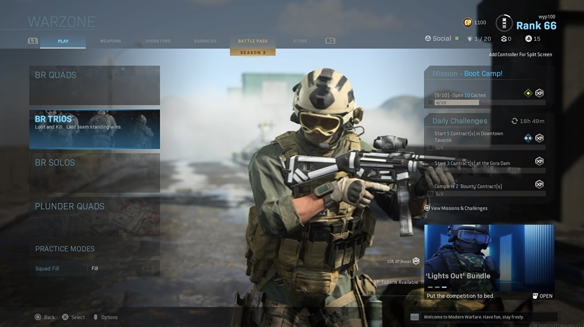 Infinity Ward adds trios back into Call of Duty: Warzone following backlash