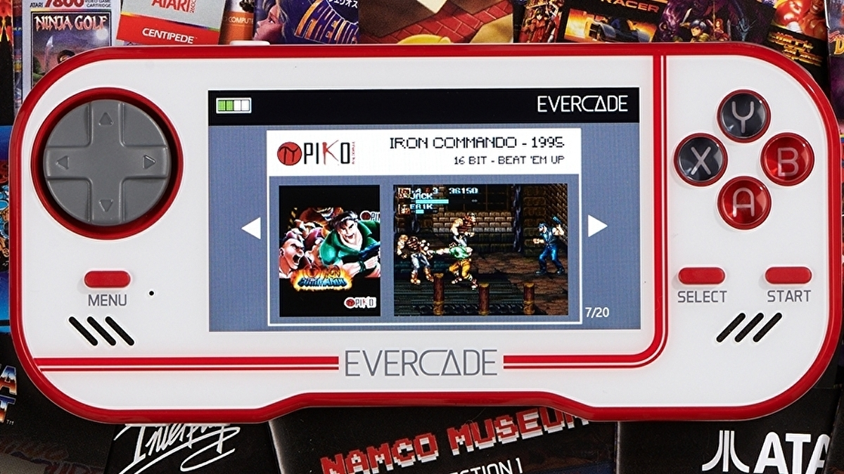 Evercade review: the cartridge-based retro handheld that works 1