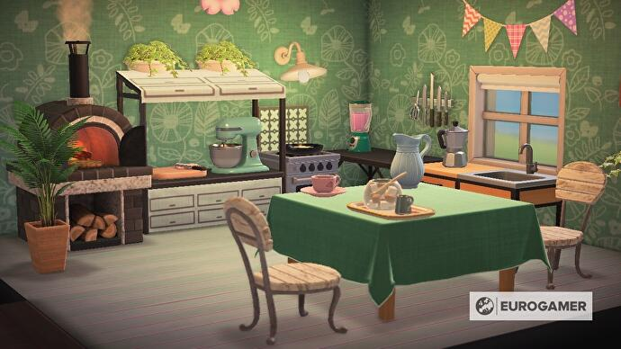 Animal Crossing kitchen furniture: How to design a kitchen ... on Ironwood Furniture Animal Crossing  id=98372