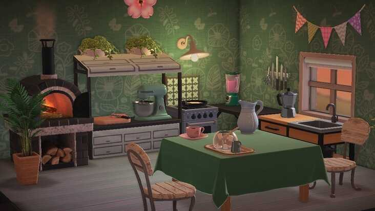 Animal Crossing Kitchen Furniture How To Design A Kitchen And Get The Ironwood Kitchenette In New Horizons Eurogamer Net