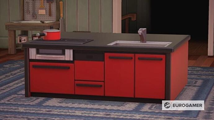 Animal Crossing kitchen furniture: How to design a kitchen ... on Ironwood Furniture Animal Crossing  id=77393