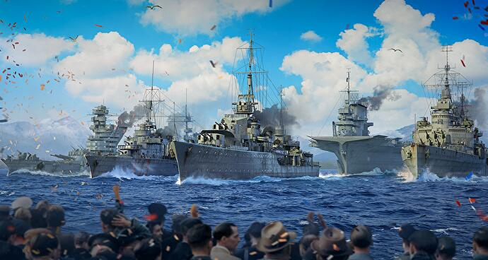World_of_Warships_virtuelle_Schiffsparade