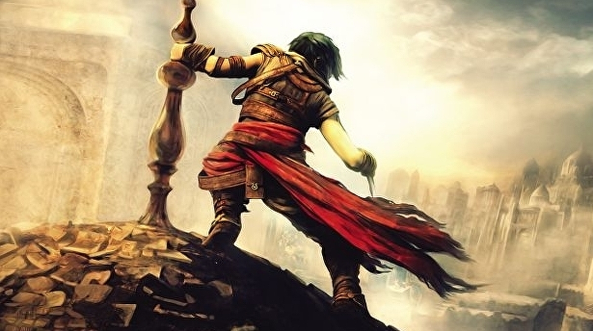 Here's three minutes of footage from a cancelled Prince of Persia project 1