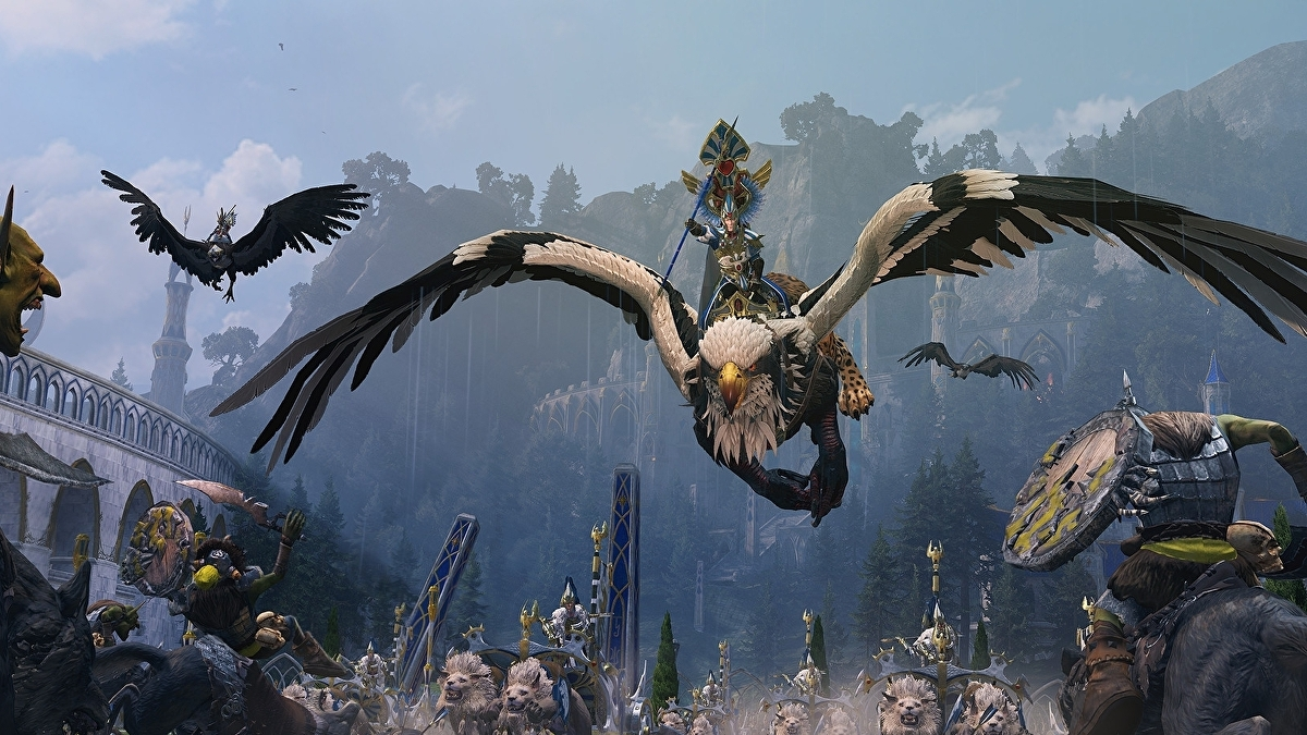 The Total War: Warhammer 2 trailers are amazing
