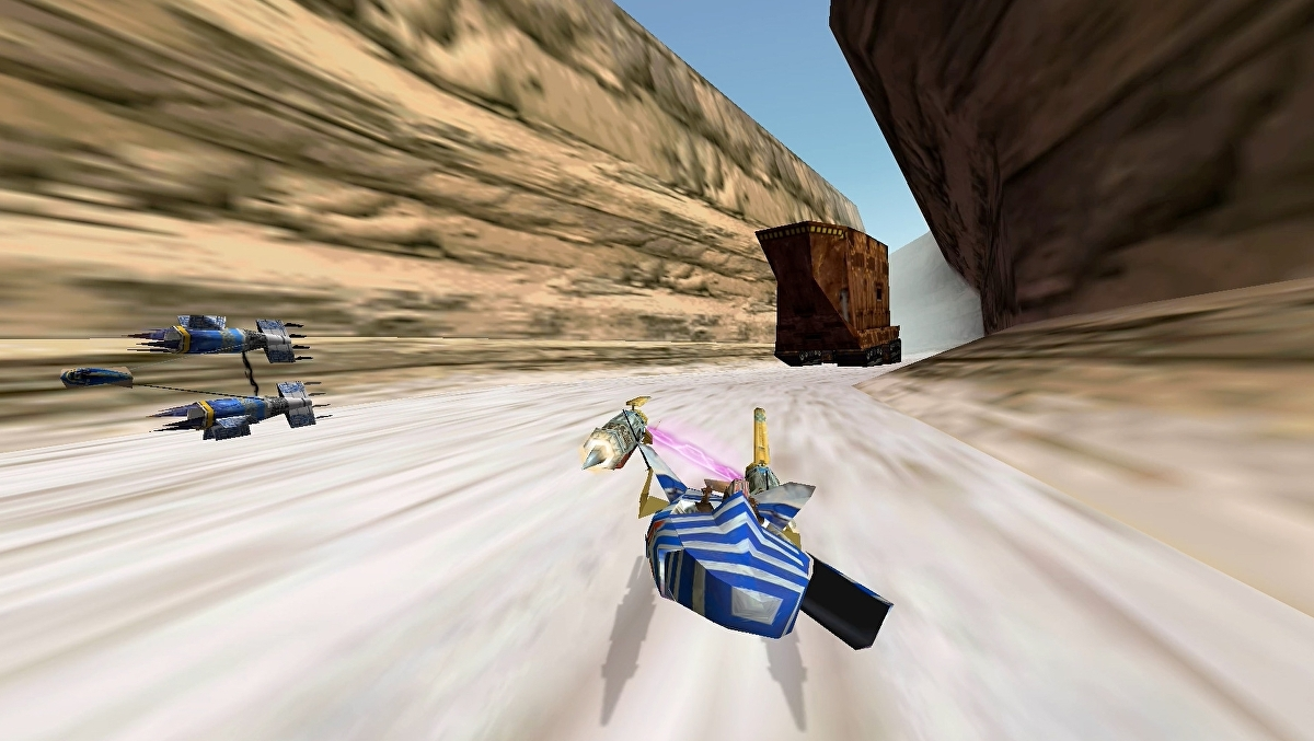Star Wars Episode I: Racer remaster gets another delay on Switch and PS4