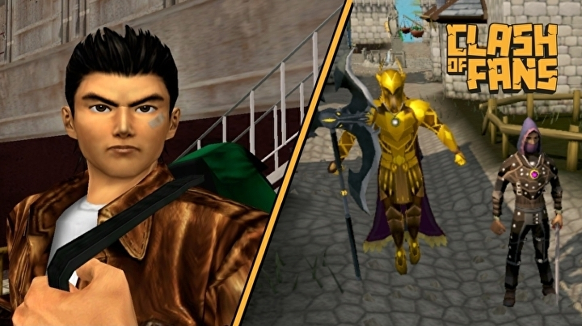 Clash of Fans: Old School RuneScape and Shenmue