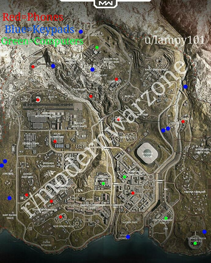 warzone_bunker_locations