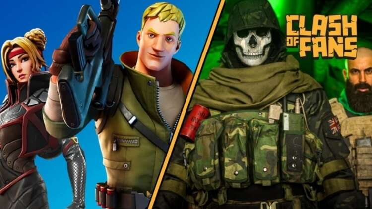 Clash Of Fans Call Of Duty Warzone And Fortnite Eurogamer Net