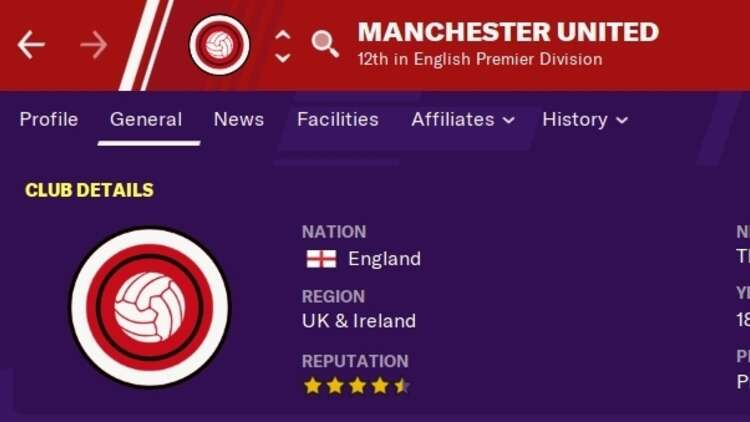 Manchester United is suing Football Manager over the use of its ...