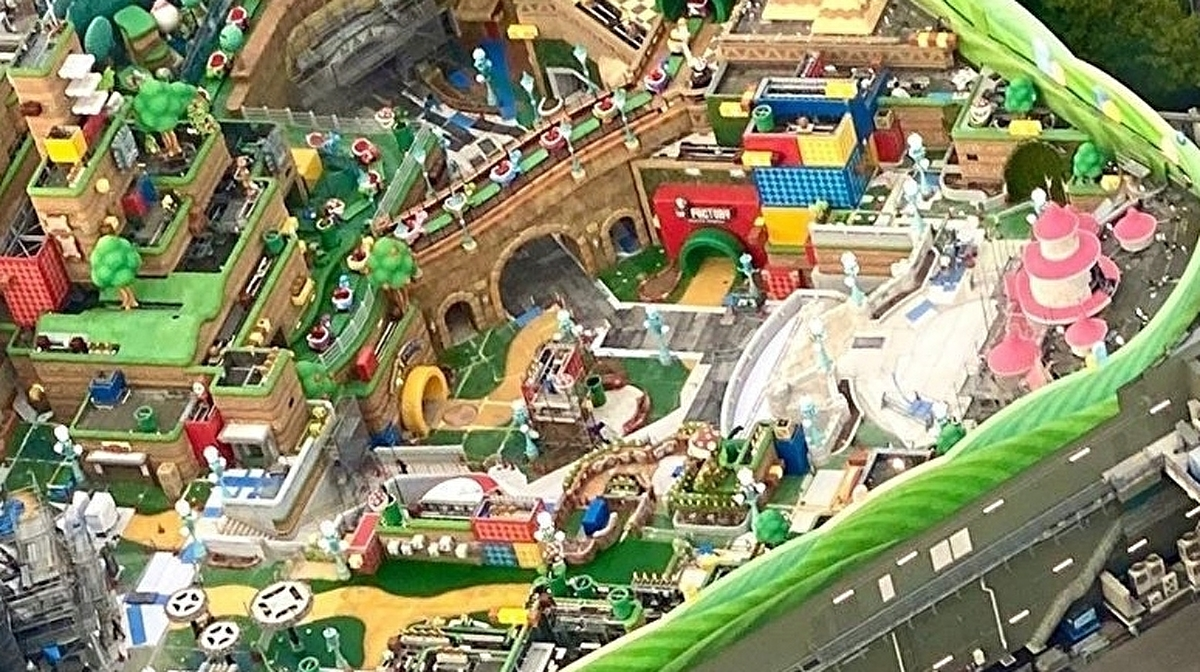 Universal Studios' Super Nintendo World looks complete