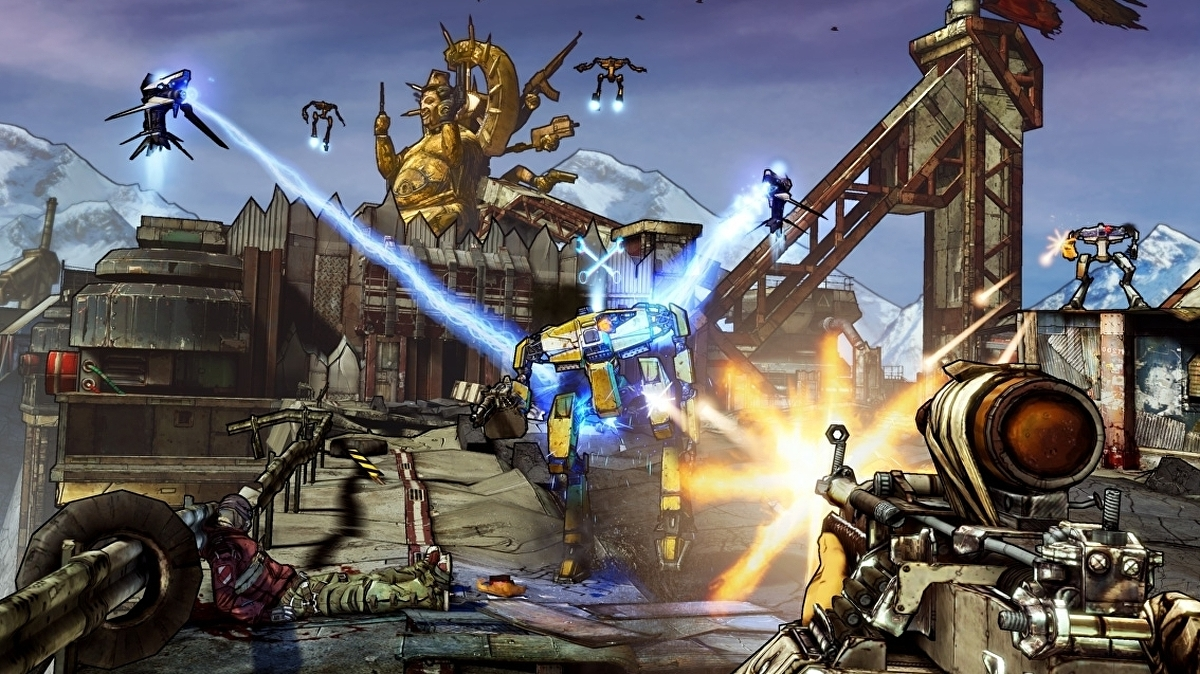 Borderlands: The Handsome Collection currently free on the Epic Games Store