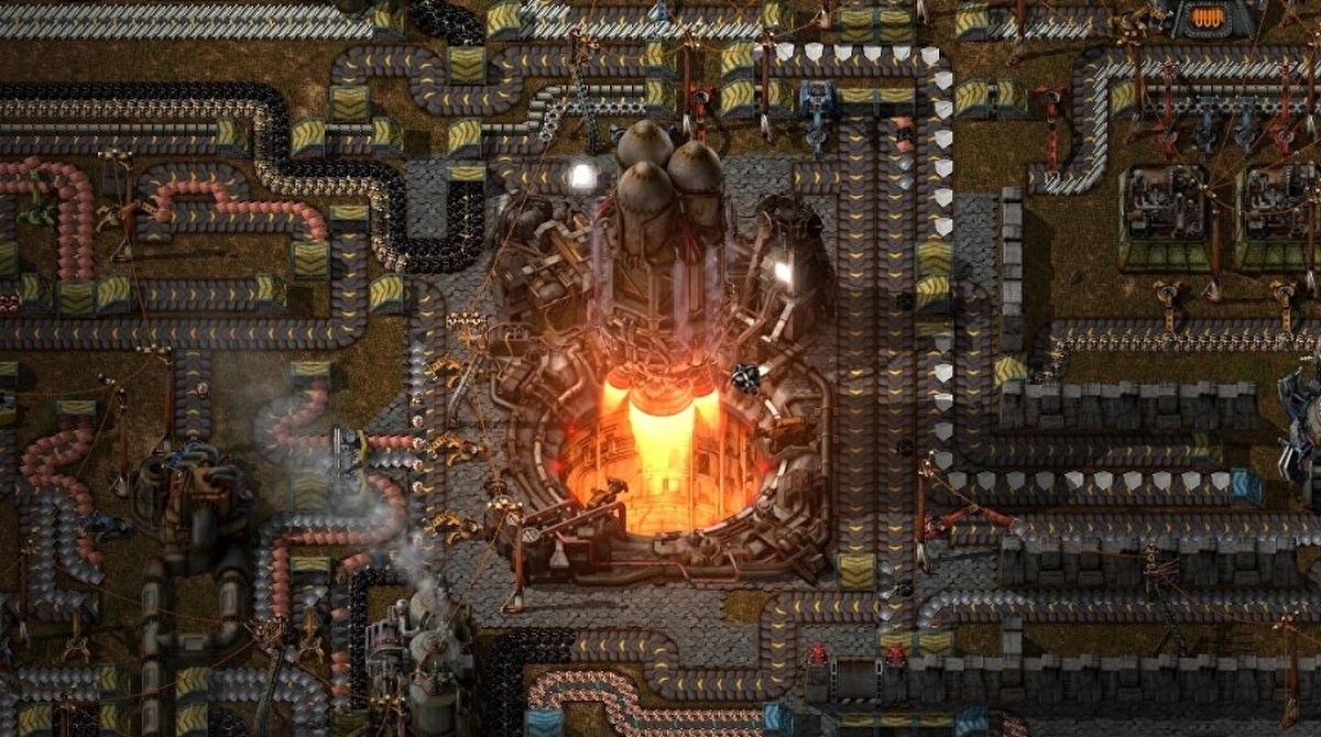 Factorio is leaving Steam early access sooner than expected to avoid Cyberpunk 2077