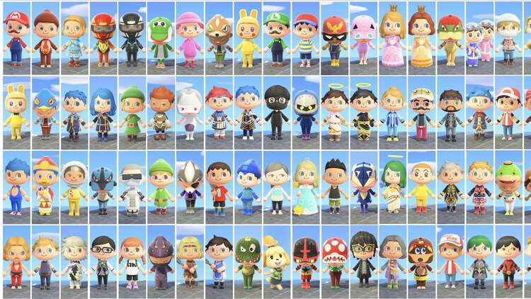 Someone Created The Entire Smash Bros Roster In Animal Crossing