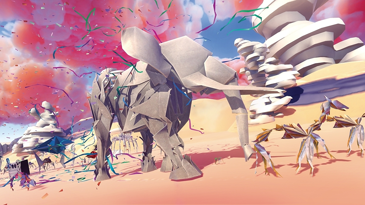 Another World creator's surreal VR ecosystem sim Paper Beast coming to PC this summer