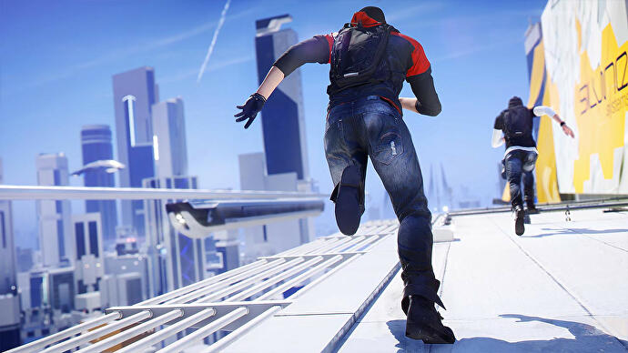 Mirror's Edge Catalyst still offers an open-world city like no other