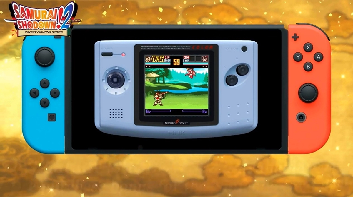 The Switch is getting a few more Neo Geo Pocket titles this summer