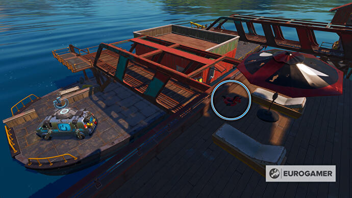 Fortnite_Season_3_Deadpool_Schimmhilfen_bei_The_Yacht_2