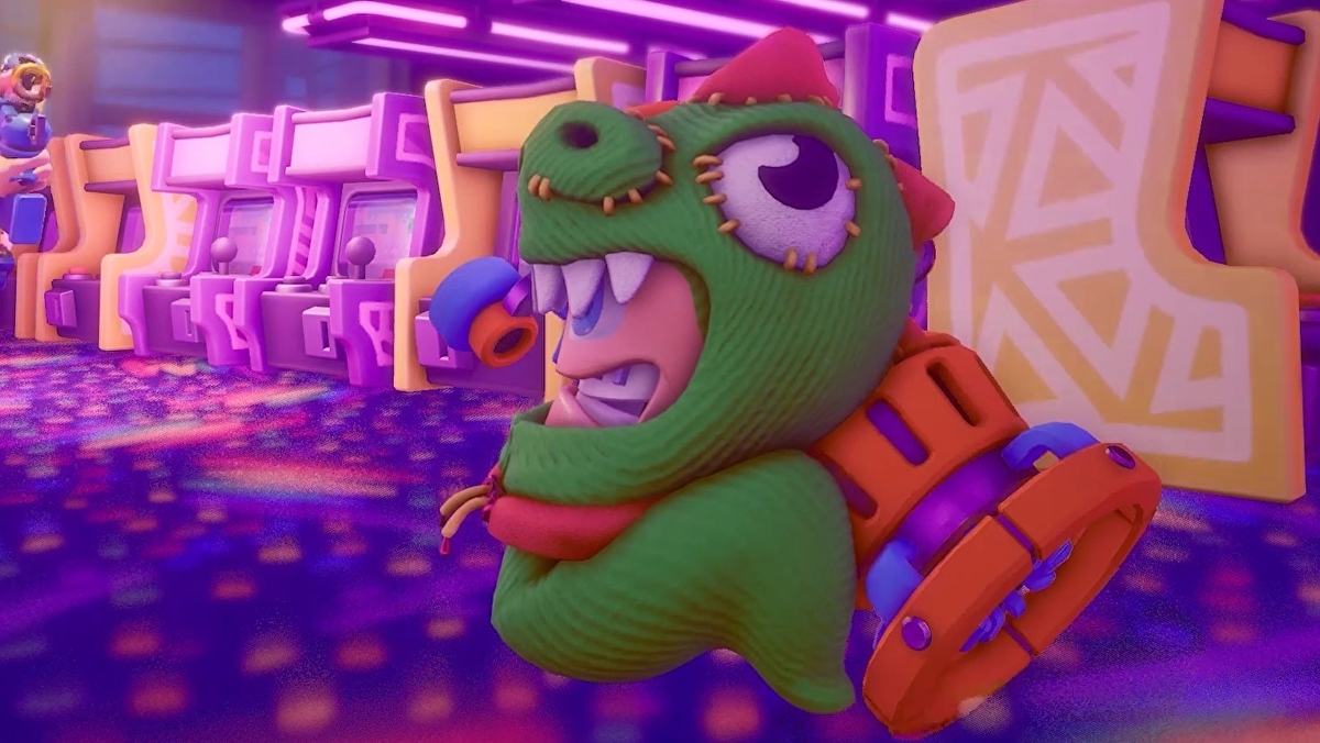 Worms Rumble is a real-time take on the classic formula, includes a battle royale mode