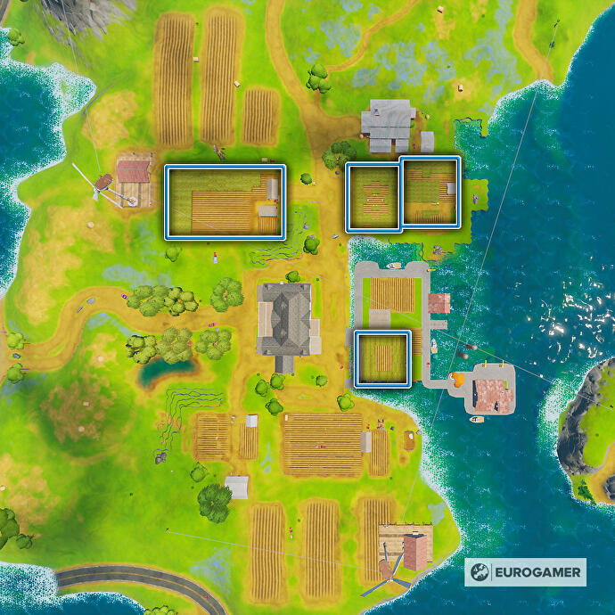 Fortnite_Season_3_Karte_mit_Fundorten_von_Maisfeld_bei_Frenzy_Farm
