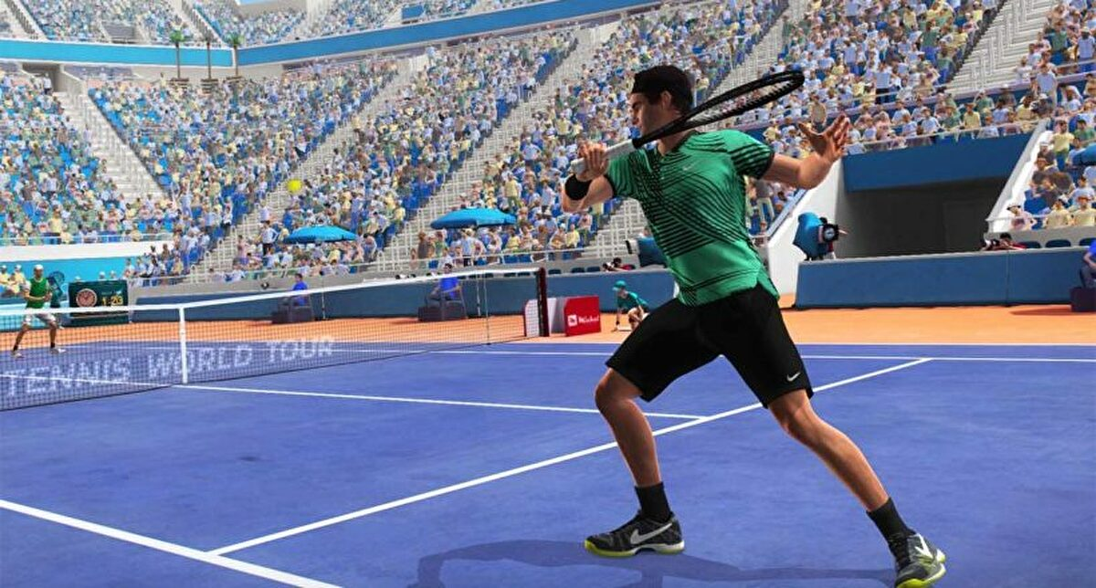 Tennis World Tour 2 is shown in the first video gameplay | SAMAGAME