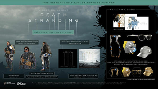 Save 22% off Death Stranding on PC from Green Man Gaming